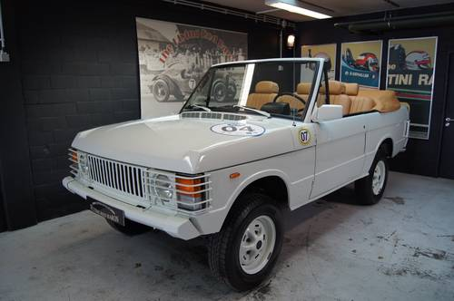 1983 Range Rover Classic Convertible! For Sale (picture 1 of 6)