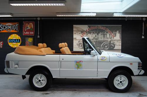 1983 Range Rover Classic Convertible! For Sale (picture 2 of 6)