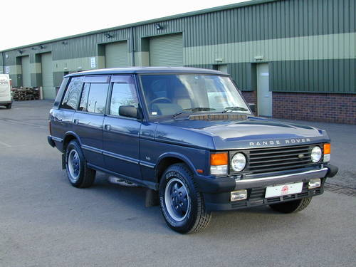 1993 RANGE ROVER CLASSIC 4.2 LSE RHD - COLLECTOR QUALITY  For Sale (picture 1 of 6)
