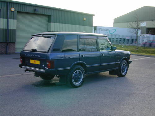 1993 RANGE ROVER CLASSIC 4.2 LSE RHD - COLLECTOR QUALITY  For Sale (picture 3 of 6)