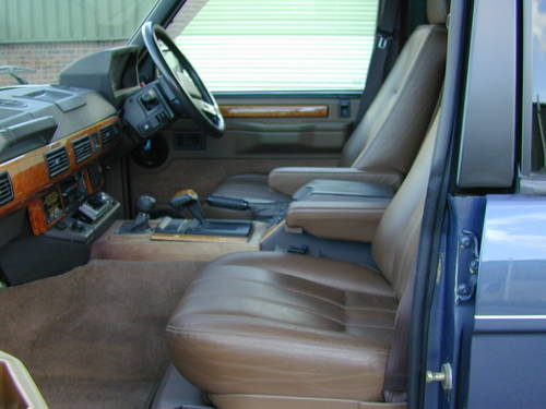1993 RANGE ROVER CLASSIC 4.2 LSE RHD - COLLECTOR QUALITY  For Sale (picture 5 of 6)