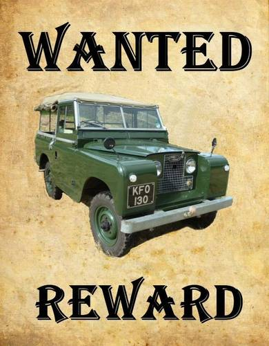 Land Rovers Wanted Wanted (picture 1 of 1)