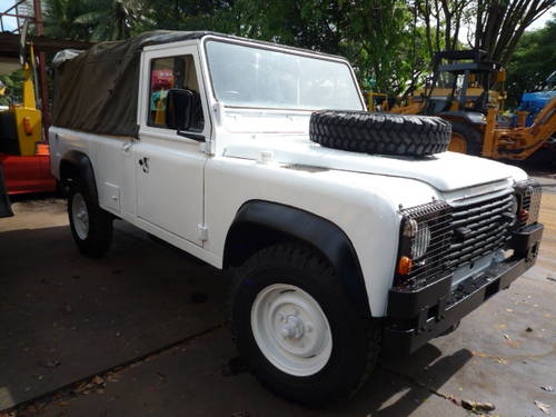 1985 LAND ROVER DEFENDER 110 SOFT TOP For Sale (picture 1 of 6)