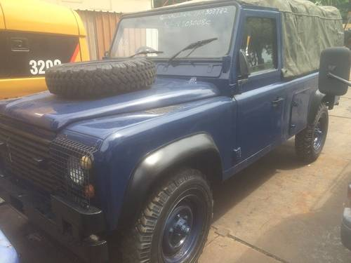 1985 LAND ROVER DEFENDER 110 SOFT TOP For Sale (picture 3 of 6)