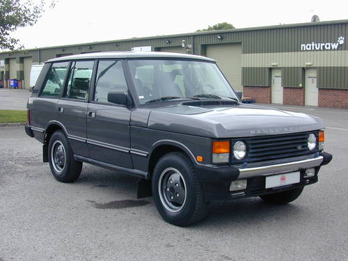 1990 RANGE ROVER CLASSIC 3.9 LHD - COLLECTOR QUALITY - CHOICE For Sale (picture 1 of 6)