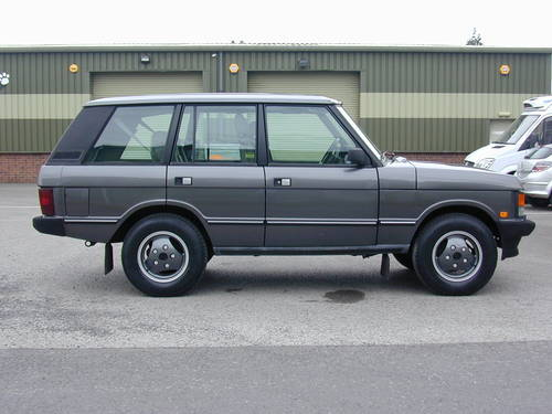 1990 RANGE ROVER CLASSIC 3.9 LHD - COLLECTOR QUALITY - CHOICE For Sale (picture 2 of 6)