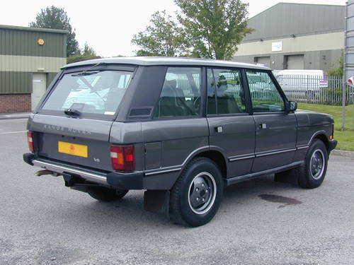 1990 RANGE ROVER CLASSIC 3.9 LHD - COLLECTOR QUALITY - CHOICE For Sale (picture 3 of 6)
