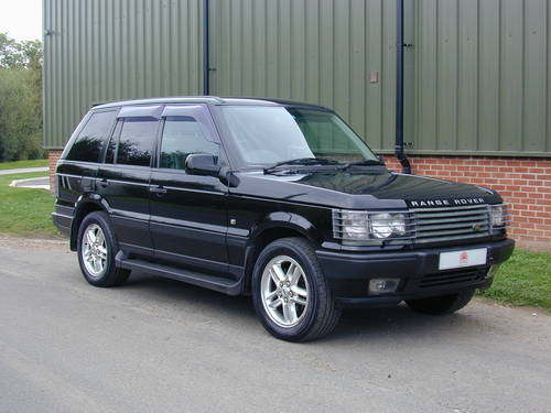 2000 RANGE ROVER P38 4.6 VOGUE RHD - COLLECTOR QUALITY! For Sale (picture 1 of 6)