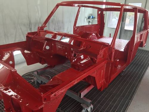 1990 RHD or LHD Phase 5 Range Rover CSK Bodyshell For Sale (picture 1 of 5)