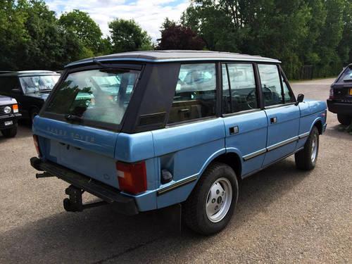 1983 RHD Range Rover 3.5 Long Shift 4 Door Full Webasto Roof For Sale (picture 4 of 4)