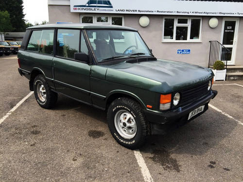 1992 LHD Range Rover 2 Door VM - 95% Rust Free - Ideal Resto For Sale (picture 1 of 6)