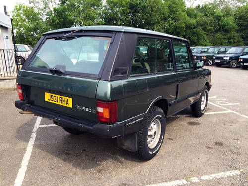 1992 LHD Range Rover 2 Door VM - 95% Rust Free - Ideal Resto For Sale (picture 2 of 6)