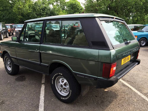 1992 LHD Range Rover 2 Door VM - 95% Rust Free - Ideal Resto For Sale (picture 3 of 6)