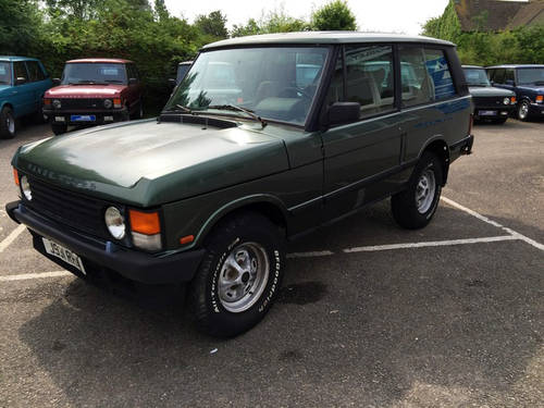 1992 LHD Range Rover 2 Door VM - 95% Rust Free - Ideal Resto For Sale (picture 4 of 6)