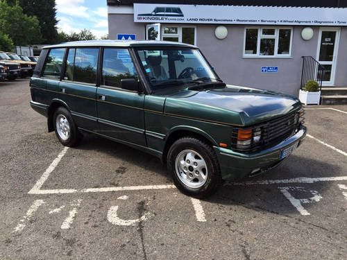 1994 LHD Range Rover LSE 4.2i Soft Dash with Brooklands Body For Sale (picture 1 of 8)