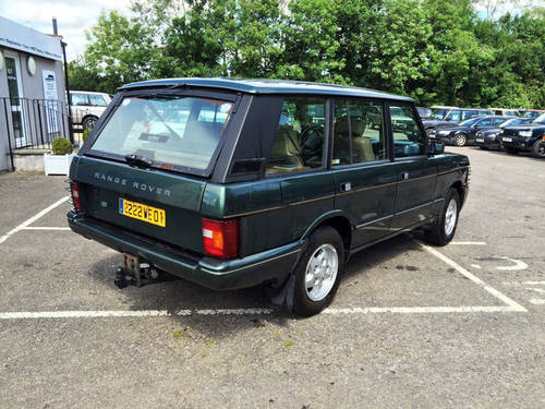 1994 LHD Range Rover LSE 4.2i Soft Dash with Brooklands Body For Sale (picture 2 of 8)