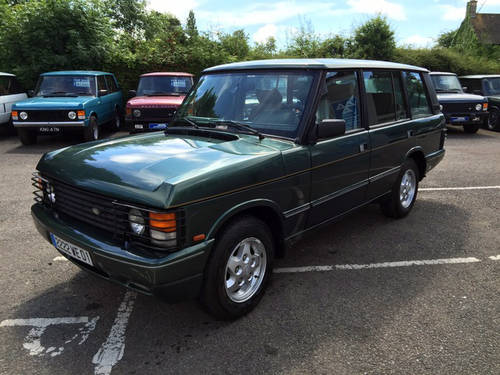 1994 LHD Range Rover LSE 4.2i Soft Dash with Brooklands Body For Sale (picture 3 of 8)