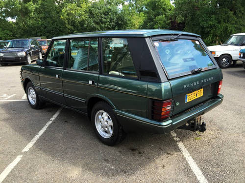 1994 LHD Range Rover LSE 4.2i Soft Dash with Brooklands Body For Sale (picture 4 of 8)