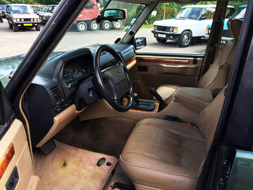1994 LHD Range Rover LSE 4.2i Soft Dash with Brooklands Body For Sale (picture 5 of 8)