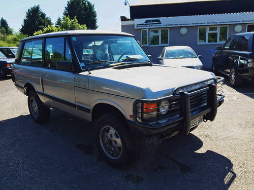 1990 LHD Range Rover Classic 2 Door VM - CSK Project For Sale (picture 1 of 4)
