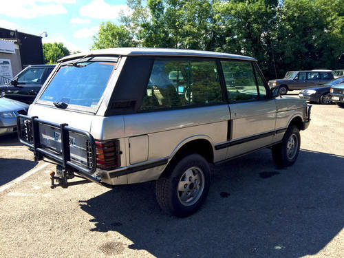 1990 LHD Range Rover Classic 2 Door VM - CSK Project For Sale (picture 2 of 4)