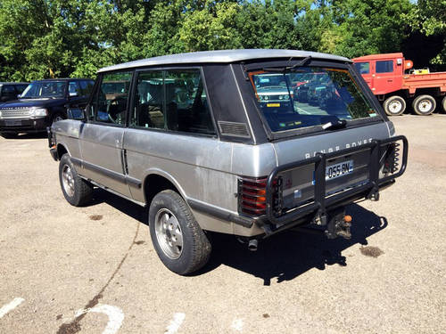 1990 LHD Range Rover Classic 2 Door VM - CSK Project For Sale (picture 4 of 4)