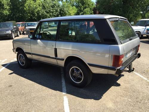 1990 LHD Range Rover Classic 2 Door VM - CSK Project For Sale (picture 2 of 5)