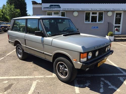 1990 LHD Range Rover Classic 2 Door VM - CSK Project For Sale (picture 5 of 5)