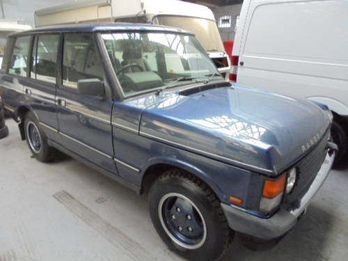1989 classic range rover vogue 3.9 efi For Sale (picture 1 of 6)