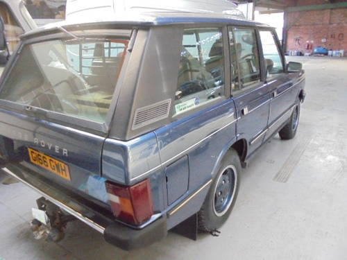 1989 classic range rover vogue 3.9 efi For Sale (picture 2 of 6)