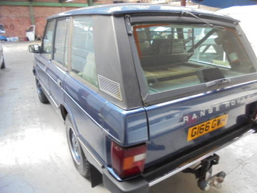1989 classic range rover vogue 3.9 efi For Sale (picture 3 of 6)