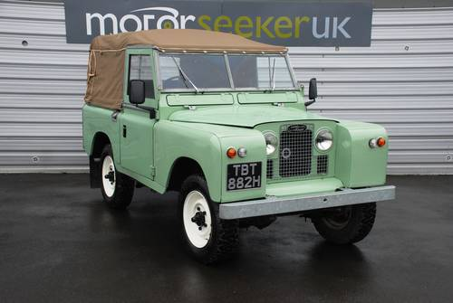 1970 Land Rover Series IIA 2.5 2A SWB 88 £17k spent full nut&bolt For Sale (picture 1 of 6)