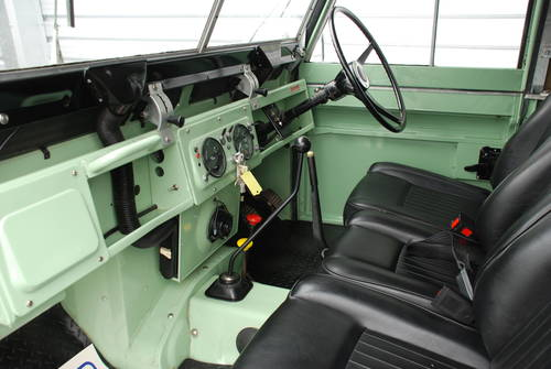 1970 Land Rover Series IIA 2.5 2A SWB 88 £17k spent full nut&bolt For Sale (picture 2 of 6)