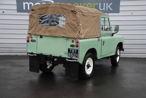1970 Land Rover Series IIA 2.5 2A SWB 88 £17k spent full nut&bolt For Sale (picture 3 of 6)