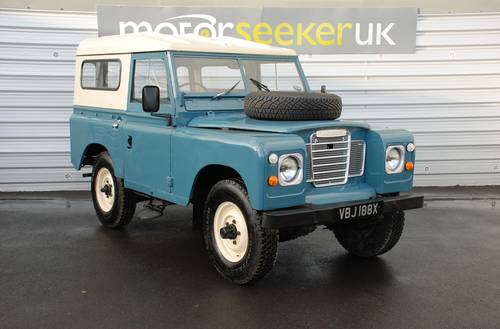 1982 Land Rover Series III 2.3 £4,000 spent on recent renovation For Sale (picture 1 of 6)