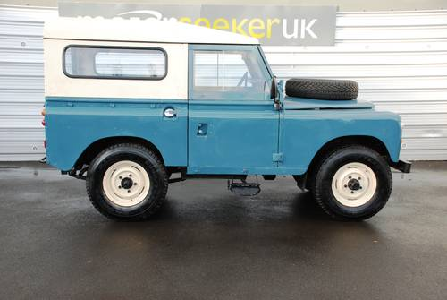 1982 Land Rover Series III 2.3 £4,000 spent on recent renovation For Sale (picture 2 of 6)