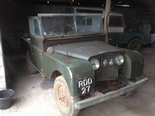 1955 Land Rover Series One UNTOUCHED  For Sale (picture 1 of 5)