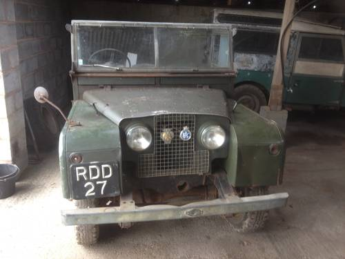 1955 Land Rover Series One UNTOUCHED  For Sale (picture 2 of 5)