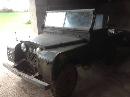 1955 Land Rover Series One UNTOUCHED  For Sale (picture 3 of 5)