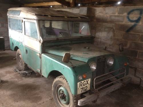 1956  Land Rover Series One Genuine Station Wagon For Sale (picture 1 of 4)