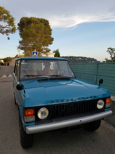 Range Rover V8 LHD Suffix A For Sale (picture 1 of 5)