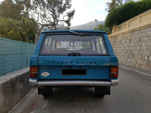 Range Rover V8 LHD Suffix A For Sale (picture 5 of 5)