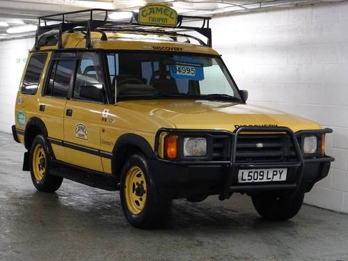 1994 land rover discovery 4.0 v8 camel trophy edition auto 5dr for