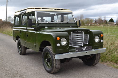 1978 Land Rover Series 3 109 Station Wagon SOLD MORE REQUIRED!! SOLD (picture 1 of 6)
