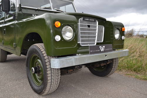 1978 Land Rover Series 3 109 Station Wagon SOLD MORE REQUIRED!! SOLD (picture 2 of 6)