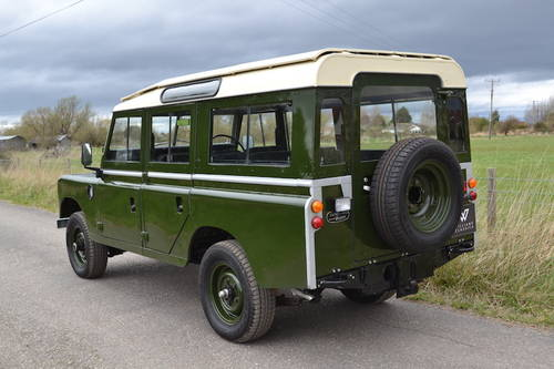 1978 Land Rover Series 3 109 Station Wagon SOLD MORE REQUIRED!! SOLD (picture 3 of 6)