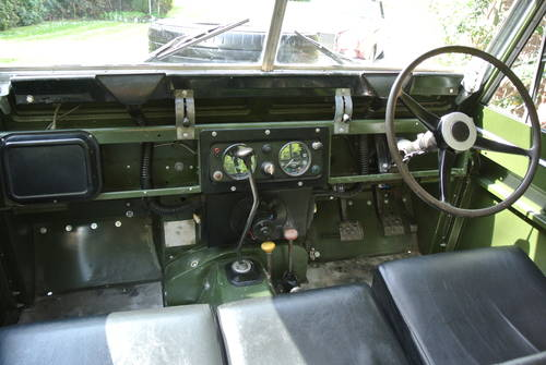 1964 LAND ROVER SERIES IIA SWB / 88 SOLD (picture 6 of 6)