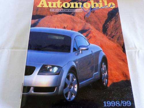 AUTOMOBILE YEAR 1998/99.