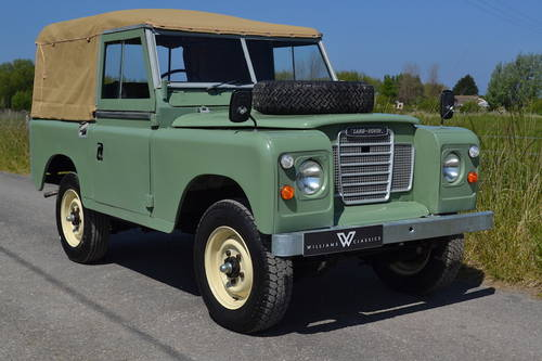 1980 Land Rover Series 3 88 SOLD (picture 1 of 6)