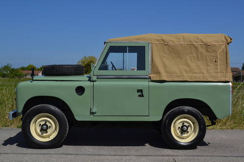1980 Land Rover Series 3 88 SOLD (picture 3 of 6)